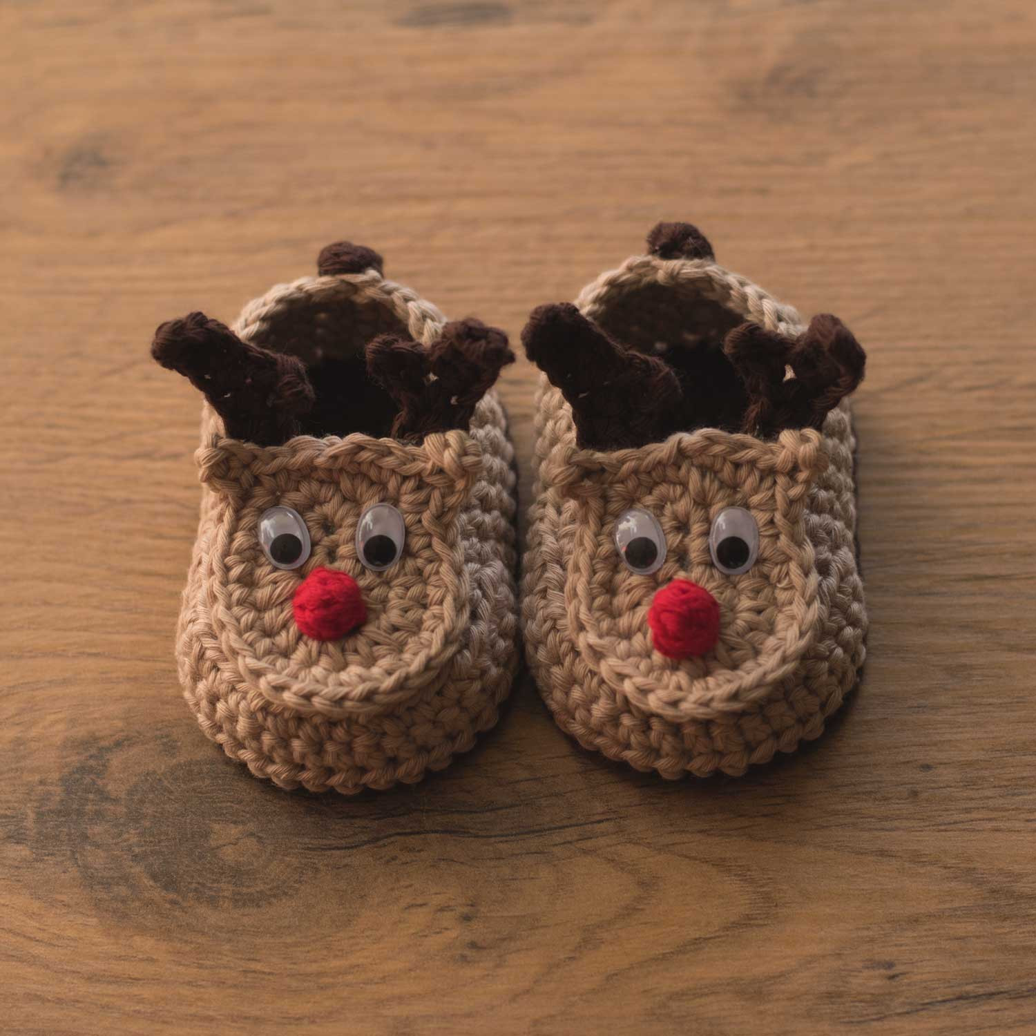 Inspirational Oh Deer – Crochet Reindeer Baby Booties – Croby Patterns Crochet Baby Slippers Of Marvelous 50 Images Crochet Baby Slippers