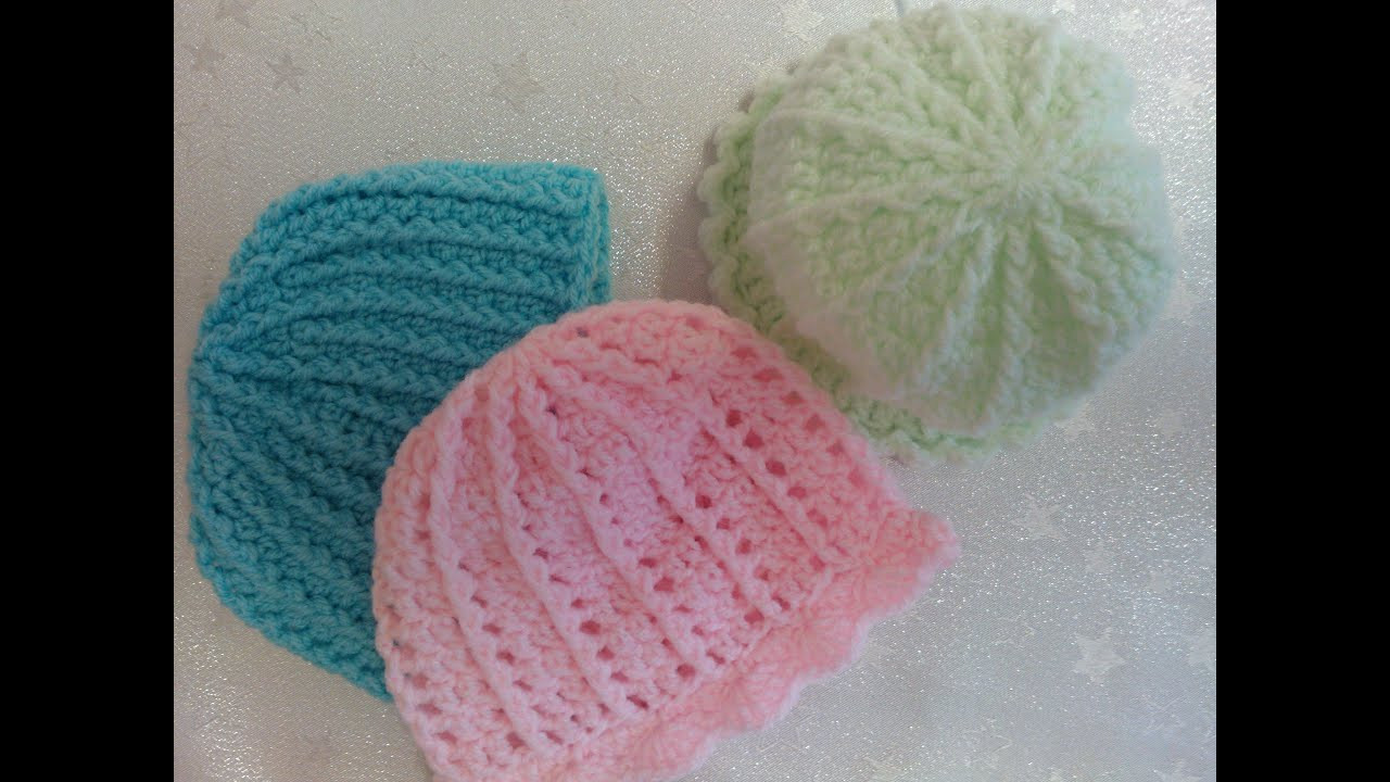 Inspirational P1 How to Crochet A Preemie Baby Hat Front Post Double Double Crochet Hat Of Great 43 Models Double Crochet Hat