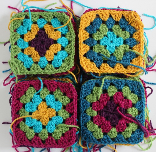 Inspirational Patching Up My Granny Square Blanket Crochet Squares together Of Lovely 43 Ideas Crochet Squares together