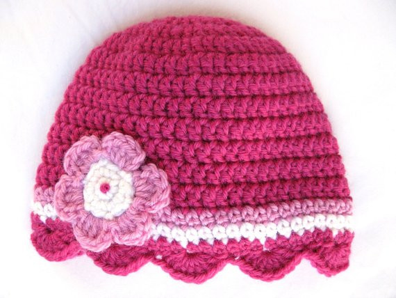 Inspirational Pattern Crochet Baby Hat Shell Edge Newborn 3 Months 6 Months toddler Crochet Hat Pattern with Flower Of Luxury 50 Ideas toddler Crochet Hat Pattern with Flower