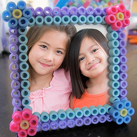 """Inspirational Perler Bead """"bff"""" Picture Frame Craft for Kids Picture Frame Crafts for Kids Of Adorable 48 Models Picture Frame Crafts for Kids"""
