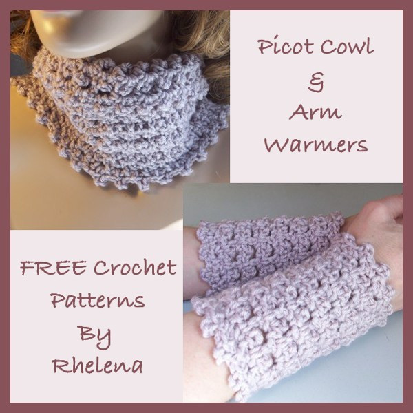 Inspirational Picot Cowl & Arm Warmers Free Crochet Pattern Crochet Arm Warmers Of Gorgeous 44 Images Crochet Arm Warmers