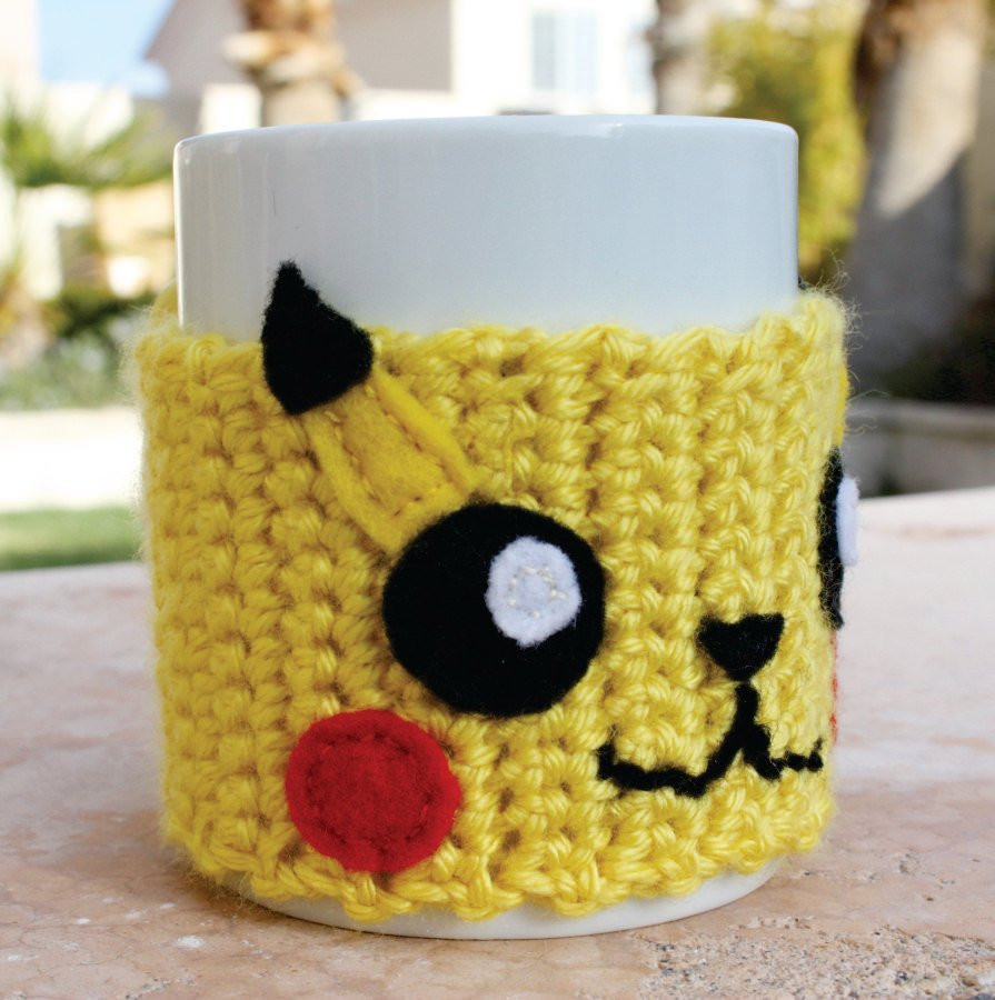 Inspirational Pikachu Inspired Coffee Mug Tea Cup Cozy Pokemon ish Coffee Cup Cozy Of Awesome 47 Images Coffee Cup Cozy