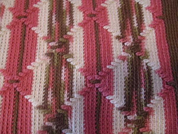 Inspirational Pink Camouflage Navajo Pattern Handcrocheted Afghan Navajo Crochet Pattern Of Perfect 48 Pics Navajo Crochet Pattern