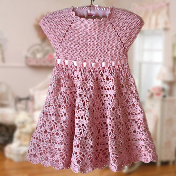 Inspirational Pink Lace Dress Crochet Pattern Flower Girl Dress Pink Crochet Girl Dress Of Awesome 46 Images Crochet Girl Dress