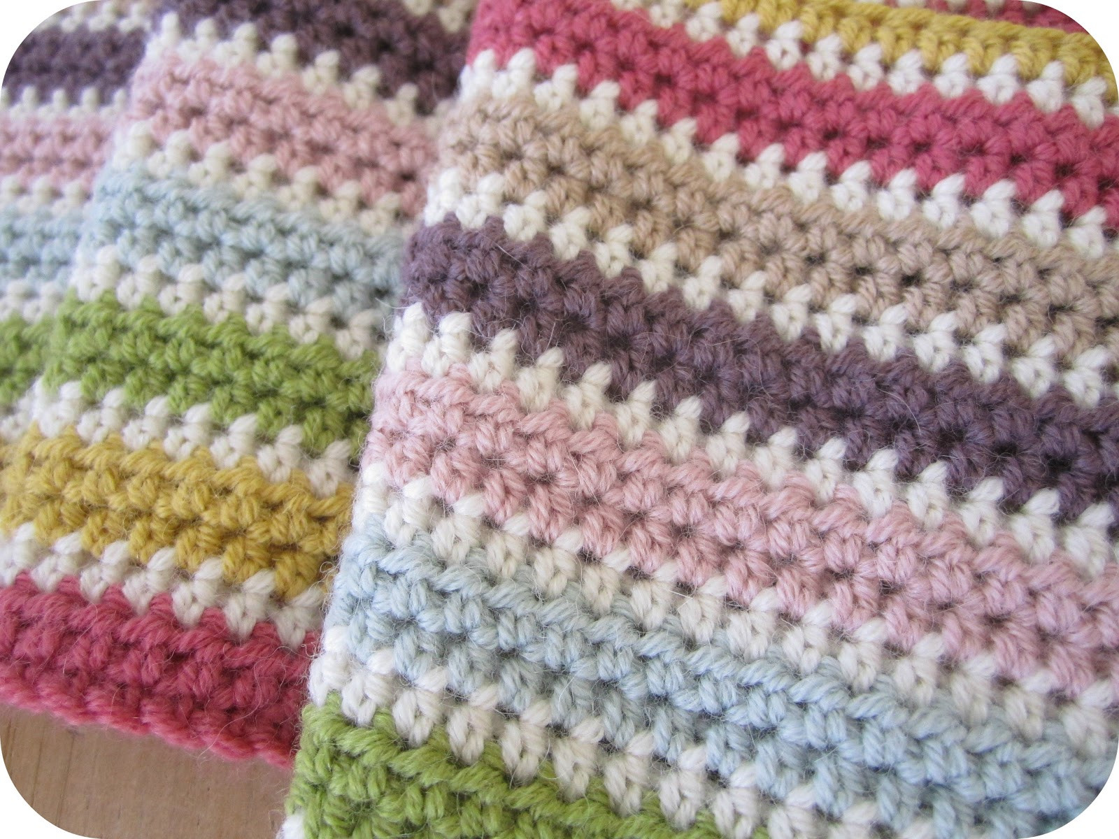 Inspirational Pink Milk Half Term S Nearly Over Double Stitch Crochet Blanket Of Awesome 49 Models Double Stitch Crochet Blanket