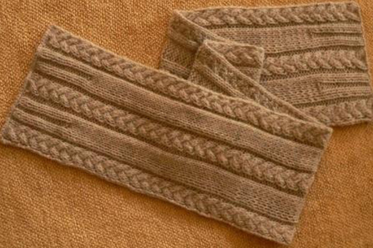 Inspirational Plait Cable Scarf ⋆ Knitting Bee Cable Scarf Pattern Of Attractive 46 Pics Cable Scarf Pattern