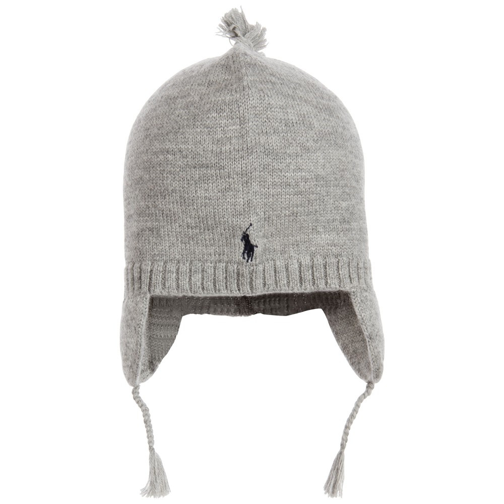 Inspirational Polo Ralph Lauren Boys Grey Merino Wool Knitted Hat with Knit Hat with Ear Flaps Of Marvelous 50 Pics Knit Hat with Ear Flaps