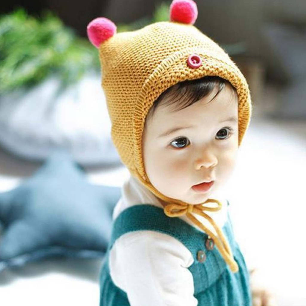 Inspirational Pom Pom Knit Baby Hat by Hayley & Co Knitted Hats for toddlers Of Attractive 49 Images Knitted Hats for toddlers