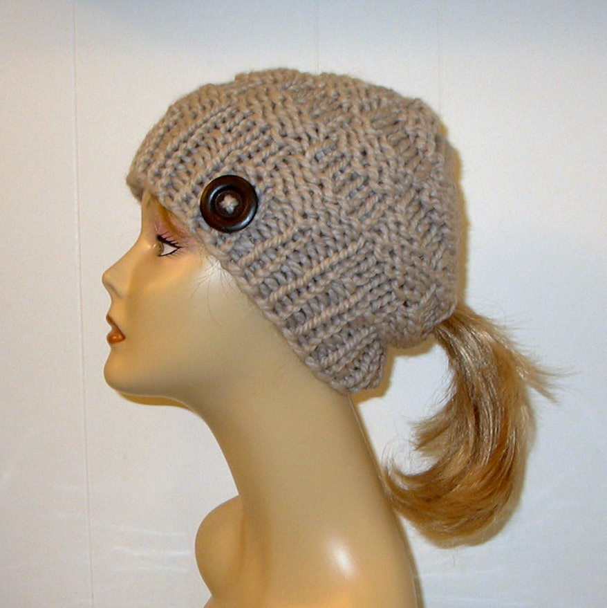 Inspirational Ponytail Hats – Tag Hats Crochet Hat with Ponytail Hole Of Attractive 47 Pics Crochet Hat with Ponytail Hole
