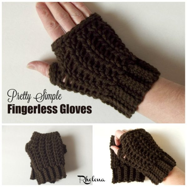 Inspirational Pretty Simple Fingerless Gloves Crochetn Crafts Easy Fingerless Gloves Crochet Pattern Of Innovative 49 Photos Easy Fingerless Gloves Crochet Pattern