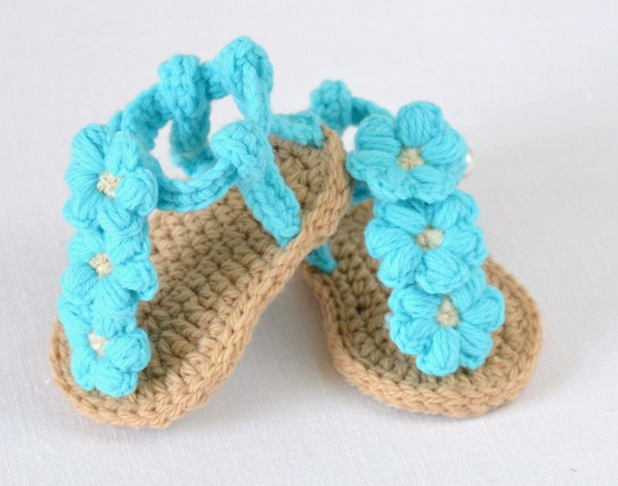 Inspirational Puff Flower Baby Sandals Crochet Pattern Puff Crochet Of Great 49 Ideas Puff Crochet