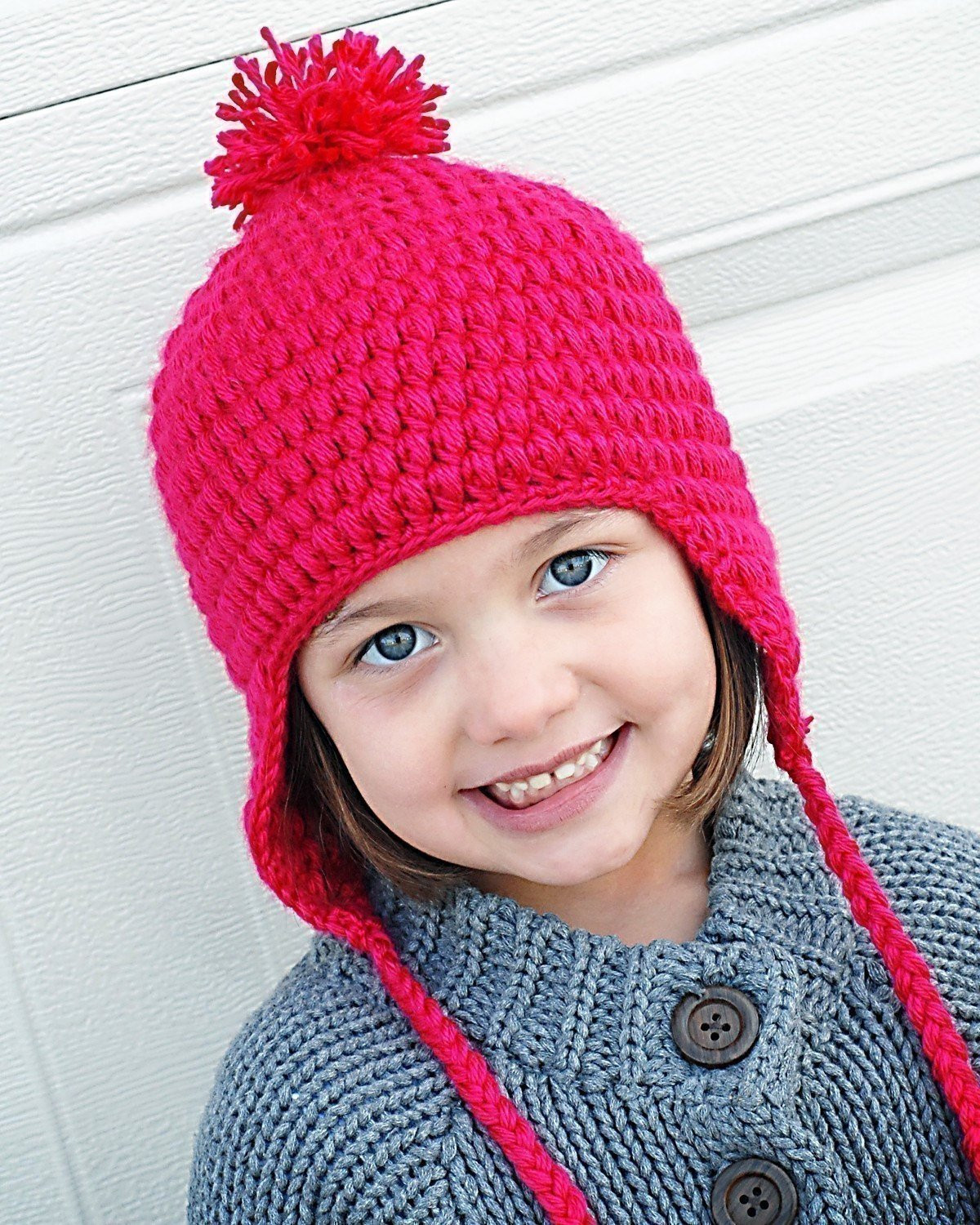 Inspirational Puffy Earflap Hat Crochet Pattern Instant by Adrienneengar Earflap Hat Crochet Pattern Of Wonderful 43 Images Earflap Hat Crochet Pattern
