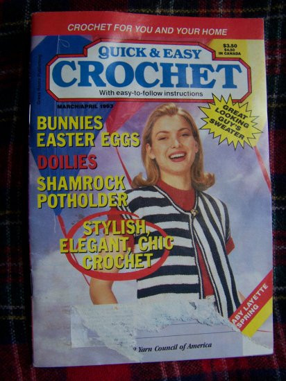 quick and easy crochet patterns magazine