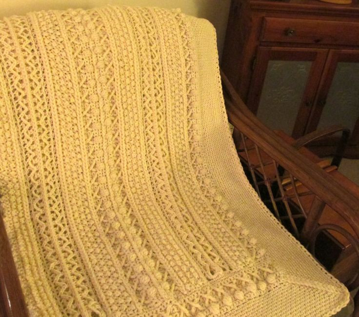 "Inspirational ""skerin Aran for My Carolyn"" Crochet Afghan Pattern at Aran Crochet Afghan Pattern Of Gorgeous 41 Pics Aran Crochet Afghan Pattern"
