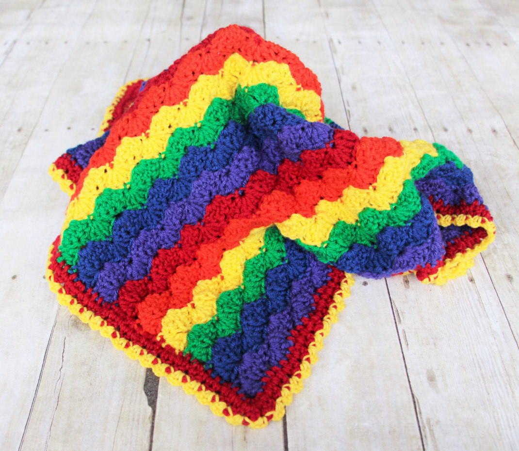 Inspirational Rainbow Baby Blanket Crochet Baby Blanket Rainbow Blanket Rainbow Crochet Blanket Of Great 40 Photos Rainbow Crochet Blanket