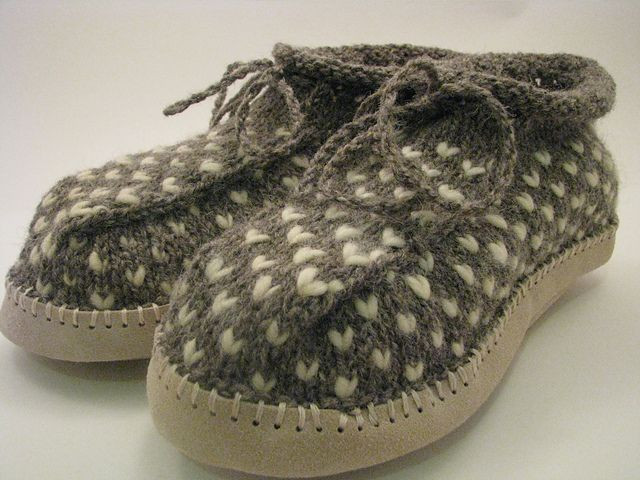 Ravelry Project Gallery for Newfoundland Thrum Boot