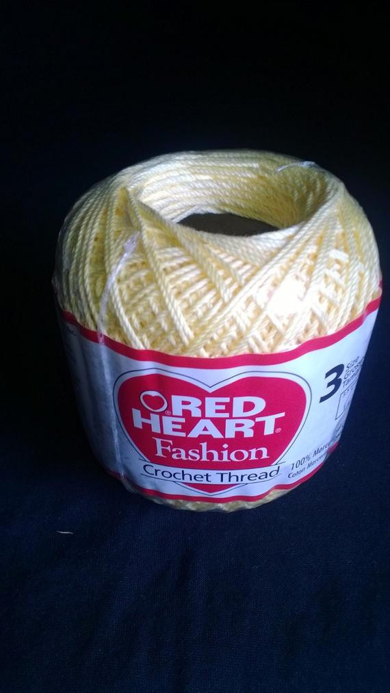 Inspirational Red Heart Fashion Crochet Thread Maize Size 3 Red Heart Crochet Thread Size 3 Of Beautiful 42 Ideas Red Heart Crochet Thread Size 3