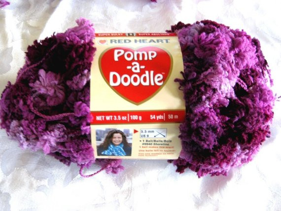 Inspirational Red Heart Pomp A Doodle Yarn Plush Plum Shades Of by Pomp A Doodle Yarn Of Charming 42 Pics Pomp A Doodle Yarn