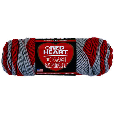 Inspirational Red Heart Team Spirit Yarn Red & Grey Red Heart Team Spirit Yarn Of Top 46 Pics Red Heart Team Spirit Yarn