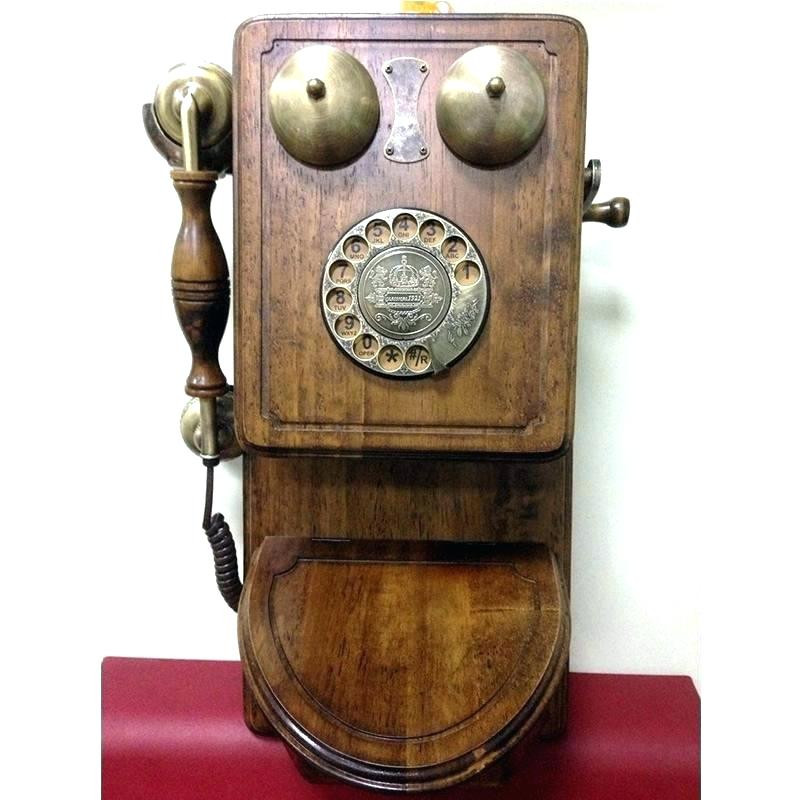 Inspirational Retro Wall Phone This Retro Wall Phone Adds Vintage Appeal Antique Wall Phones for Sale Of Brilliant 40 Pics Antique Wall Phones for Sale