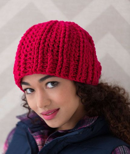 Inspirational Ridged Crochet Hat Free Pattern From Red Heart Yarns Red Heart Yarn Free Patterns Of Superb 44 Pics Red Heart Yarn Free Patterns