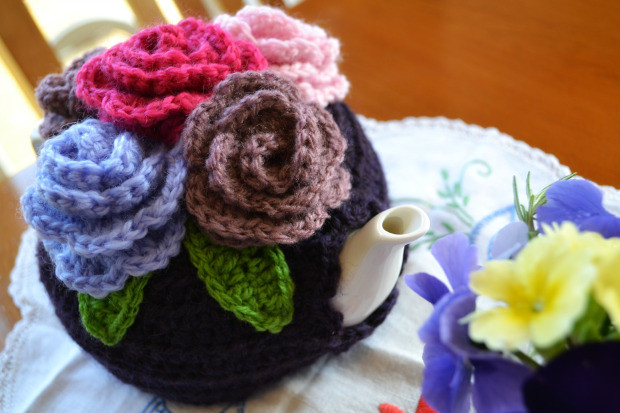 Inspirational Rosy Tea Cosy – the Green Dragonfly Tea Cozy Crochet Pattern Of Perfect 49 Models Tea Cozy Crochet Pattern