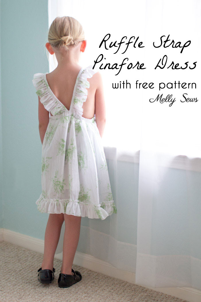 Inspirational Ruffle Strap Pinafore Dresses with Free Pattern Melly Sews Pinafore Dress toddler Of Brilliant 42 Images Pinafore Dress toddler