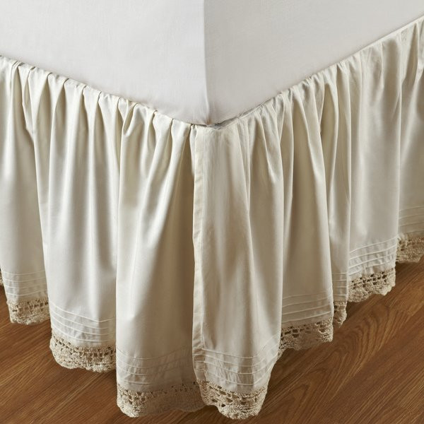 Inspirational Ruffled Bella Crochet 18 Inch Bedskirt Crochet Bed Skirts Of Gorgeous 41 Pics Crochet Bed Skirts