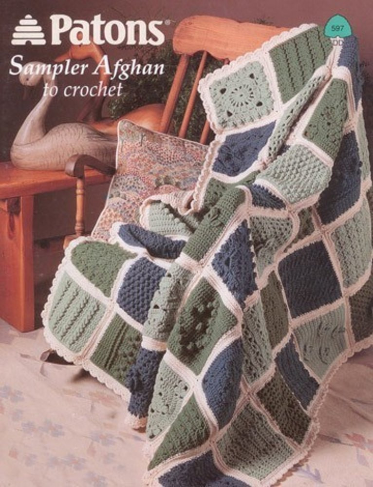Inspirational Sampler Afghan to Crochet In Patons Decor Crochet Sampler Afghan Of Attractive 47 Pictures Crochet Sampler Afghan