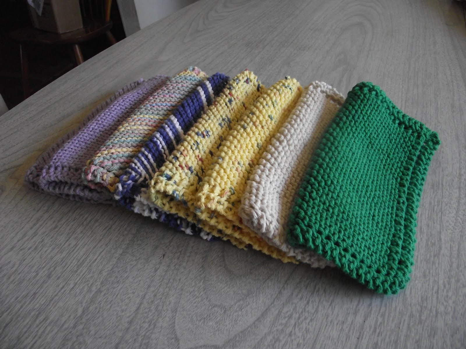Inspirational Sara Vs Sarah Knitted Dishcloth with Pattern Tutorial Knitted Dish Rags Of New 45 Ideas Knitted Dish Rags