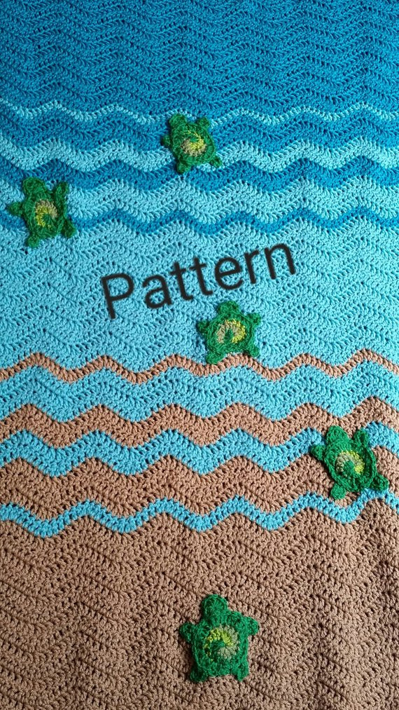 Inspirational Sea Turtle Baby Blanket Crochet Pattern Personalized Baby Sea Turtle Crochet Blanket Pattern Of Beautiful Premier Sea Turtle Blanket Free Download – Premier Yarns Sea Turtle Crochet Blanket Pattern