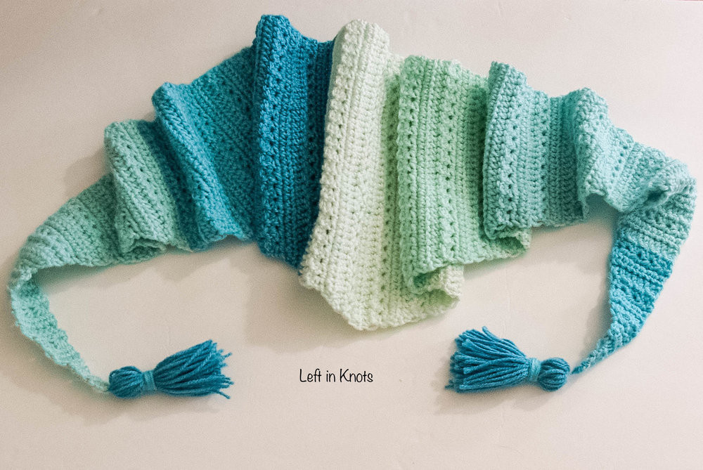 Inspirational Snow Drops Mod Scarf A Free Crochet Pattern — Left In Knots Caron Big Cakes Crochet Patterns Of Marvelous 50 Pics Caron Big Cakes Crochet Patterns