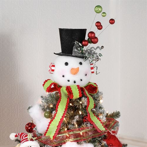 Inspirational Snowman Christmas Tree topper or Table Accent Snowman Christmas Tree Decorations Of Adorable 46 Pictures Snowman Christmas Tree Decorations