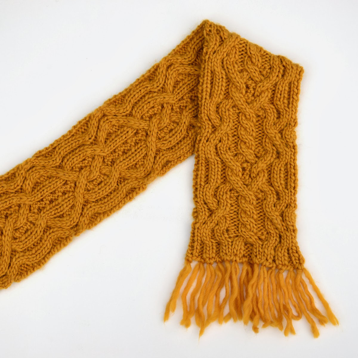 Inspirational so I Make Stuff Double Mustard Reversible Cabled Scarf Cable Scarf Pattern Of Attractive 46 Pics Cable Scarf Pattern