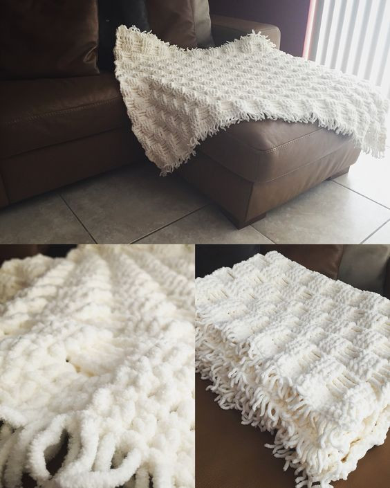 Inspirational soft and Chunky Bernat Baby Blanket with Crochet Basket Basket Weave Crochet Blanket Of Great 49 Pictures Basket Weave Crochet Blanket