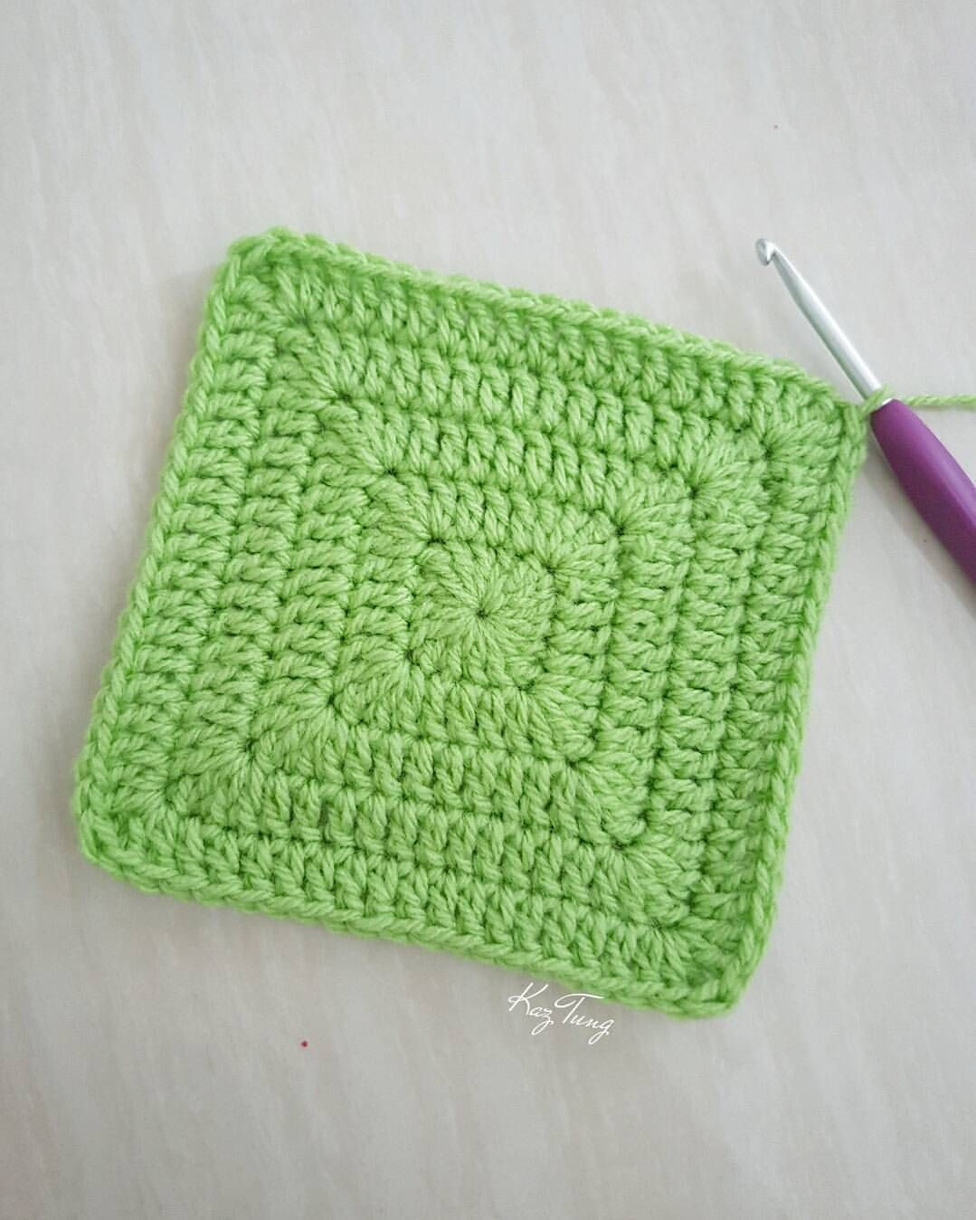Inspirational solid Granny Square without Gaps Just Keep Doing 2dc 1tr Square Crochet Stitch Of Lovely 49 Photos Square Crochet Stitch