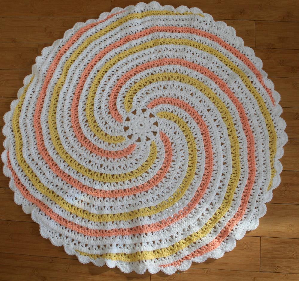 Inspirational Spiral Baby Blanket Crochet Pattern by Annastasia Cruz Spiral Crochet Pattern Free Of Fresh 44 Models Spiral Crochet Pattern Free