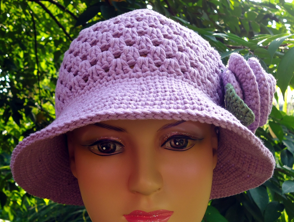 Inspirational Stitch Of Love Pattern Crochet Hat for My Mom Crochet Flowers for Hats Free Patterns Of Contemporary 43 Pics Crochet Flowers for Hats Free Patterns