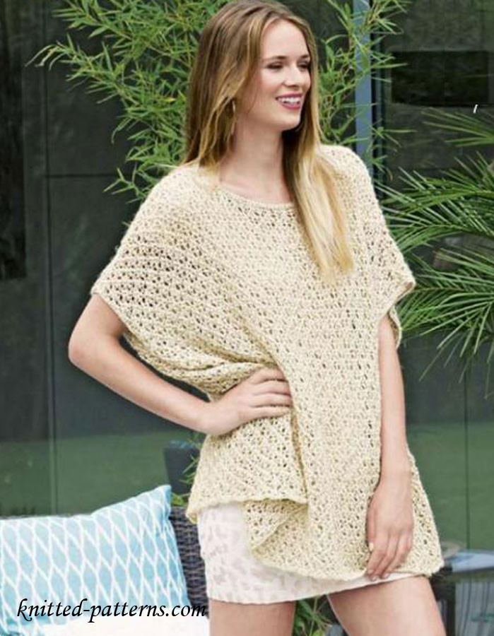 Inspirational Summer Lace Poncho Summer Knitting Patterns Of Perfect 47 Pictures Summer Knitting Patterns
