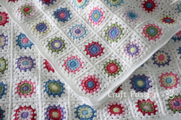 Inspirational Sunburst Granny Square Blanket Free Crochet Pattern Granny Square Afghan Pattern Beginners Of Superb 24 Pictures Granny Square Afghan Pattern Beginners