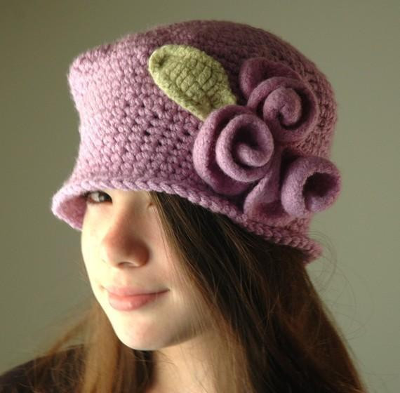 Inspirational Surprising Gifts Designer Crocheted Hats Other Great Crochet Cloche Hat Of Lovely 48 Pics Crochet Cloche Hat