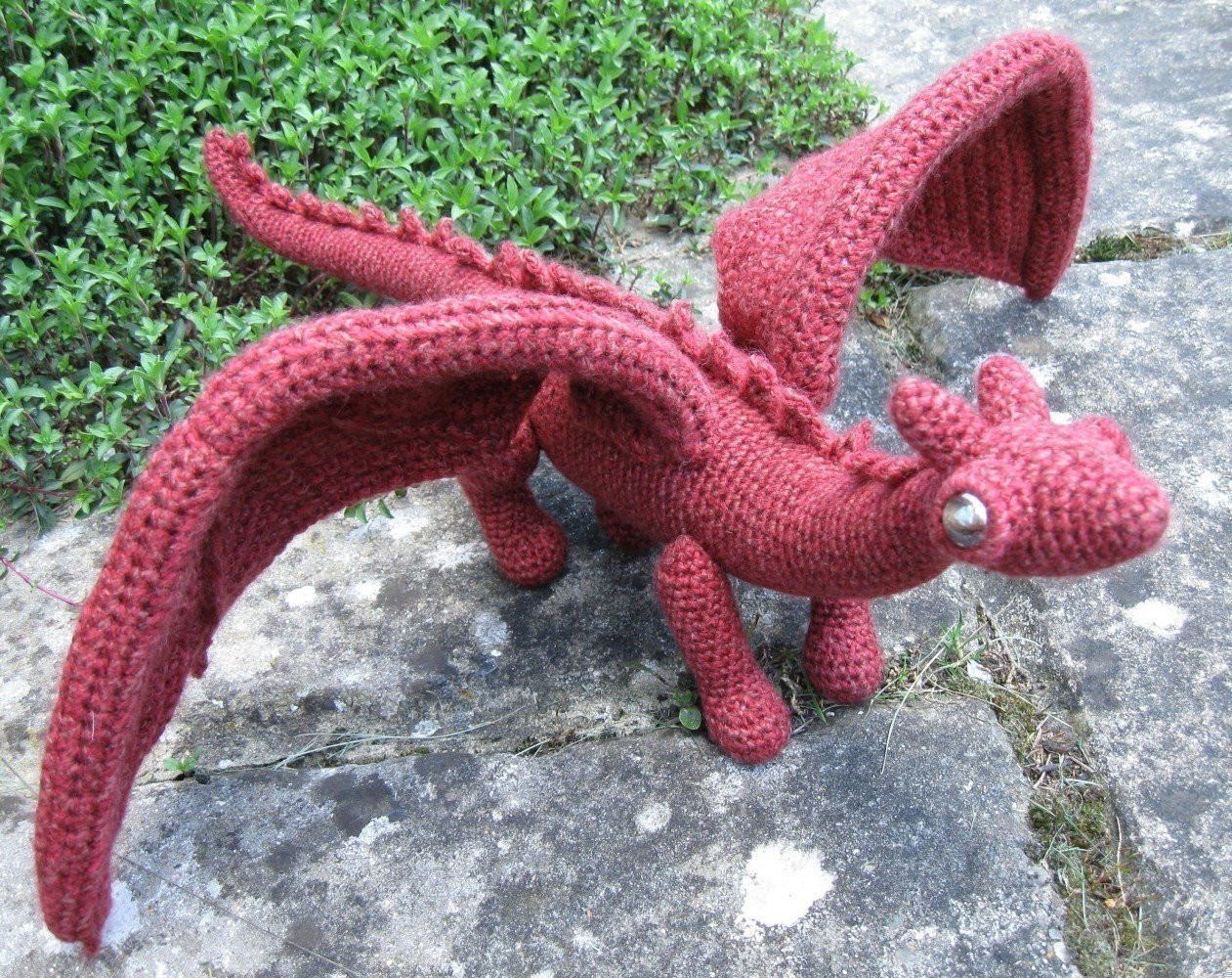 Inspirational Tecido Feltro E Croche Binacao Perfeita – Monstrinhos Crochet Dragon Pattern Of Brilliant 50 Pictures Crochet Dragon Pattern