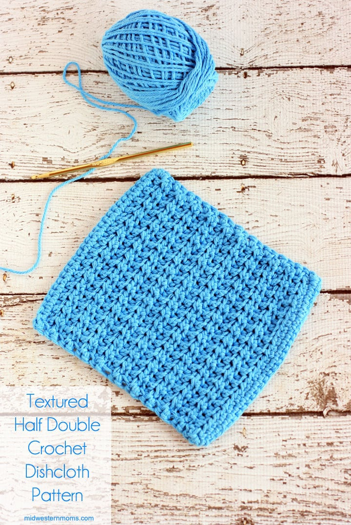 Inspirational Textured Half Double Crochet Dishcloth Pattern Crochet Stitches for Beginners Of Amazing 46 Models Crochet Stitches for Beginners