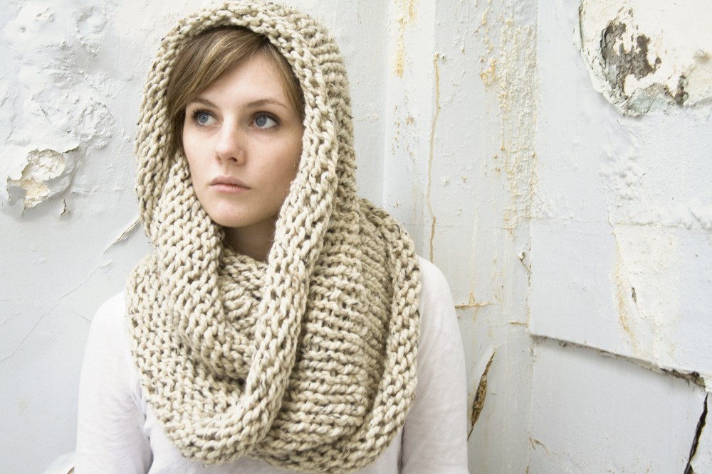 Inspirational Thanksgiving Etsy Finds Lark Crafts Knit Circle Scarf Of Brilliant 47 Photos Knit Circle Scarf