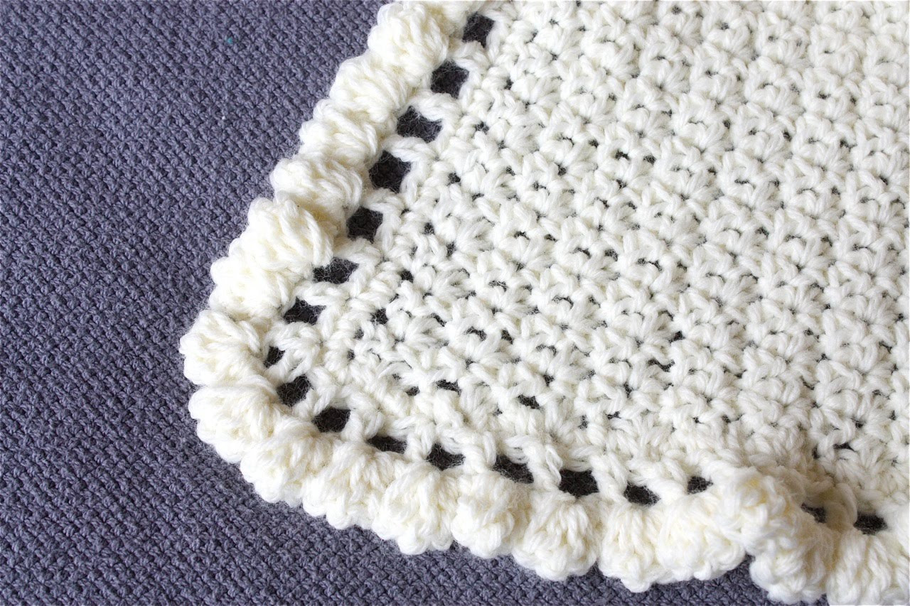 Inspirational the Apple Crate Crocheted Baby Blanket Crochet Edging for Baby Blanket Patterns Of New 43 Pics Crochet Edging for Baby Blanket Patterns