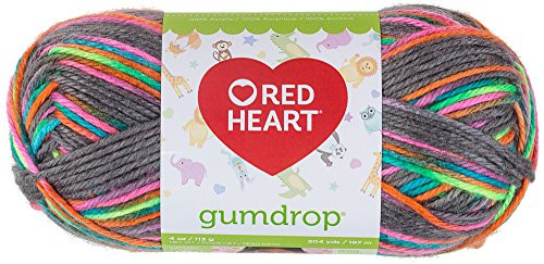 The Boom Craft Store Red Heart Gumdrop Yarn Rock Candy