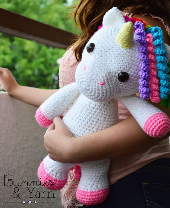 Inspirational the Cutest Collection Unicorn Crochet Patterns Crochet Unicorn Blanket Pattern Of Marvelous 48 Photos Crochet Unicorn Blanket Pattern