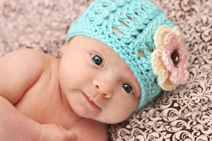 Inspirational the Dainty Daisy Shell Stitch Beanie Newborn Baby Beanies Of Contemporary 45 Pictures Newborn Baby Beanies