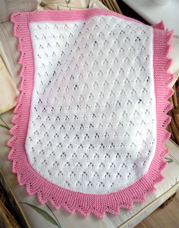 car seat and other small baby blanket knitting patterns